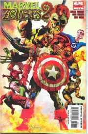 Marvel Zombies 2 #1 (2007) Arthur Suydam comic book
